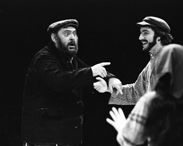"Zero Mostel performing in ""Fiddler on the Roof"" at Westbury Music Fair in New York 1971© 1978 Barry Kramer - Image 24354_0128"