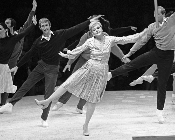 """Angela Lansbury performing in """"Mame"""" at the Westbury Music Fair in New York1972© 1978 Barry Kramer - Image 24354_0260"""