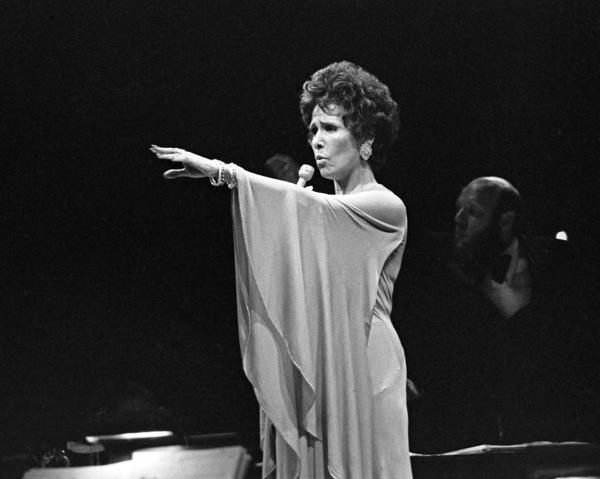Lena Horne performing at Westbury Music Fair in New York1974© 1978 Barry Kramer - Image 24354_0271