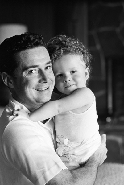 Regis Philbin at home with his son Danny1967© 1978 Gene Trindl - Image 24355_0001