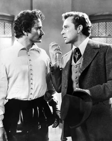 "John Derek and Richard Burton in ""Prince of Players""1955 20th Century-Fox** I.V. - Image 24359_0004"