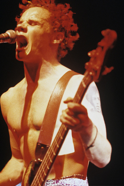 Red Hot Chili Peppers (Flea)1984© 1984 Ivy Ney - Image 24372_0009