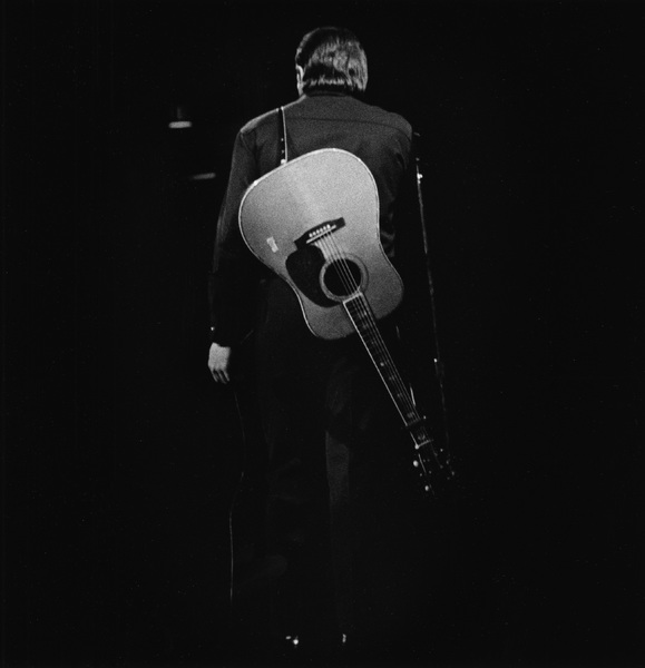 Johnny Cash performing at Madison Square Garden in New York City1969© 1978 Steve Banks - Image 24377_0010