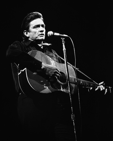 Johnny Cash performing at Madison Square Garden in New York City1969© 1978 Steve Banks - Image 24377_0011