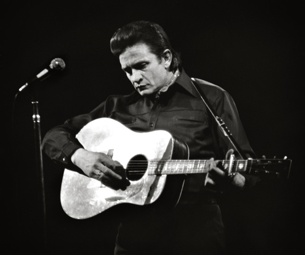 Johnny Cash performing at Madison Square Garden in New York City1969© 1978 Steve Banks - Image 24377_0012