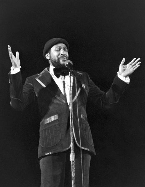 Marvin Gaye performing in Atlanta 1975© 1978 Steve Banks - Image 24377_0017
