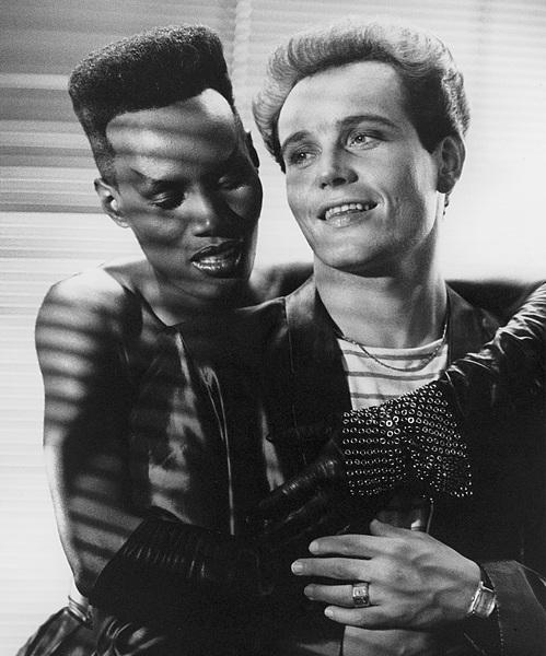 Grace Jones and Adam Ant  1983© 1983 Steve Banks - Image 24377_0020