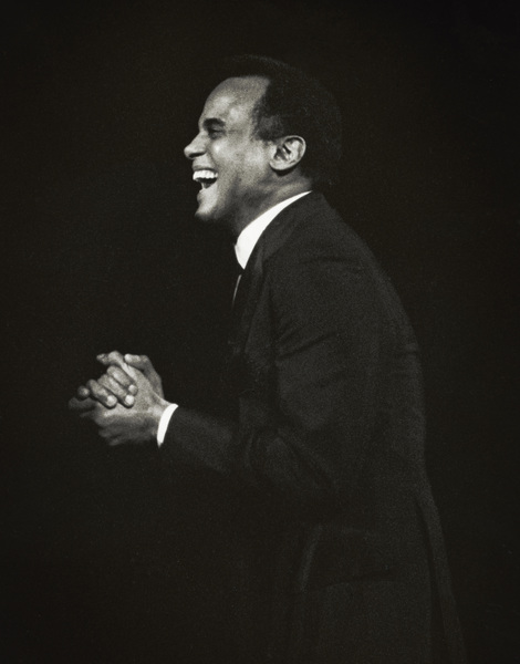 Harry Belafonte performing in Atlanta1975© 1978 Steve Banks - Image 24377_0022