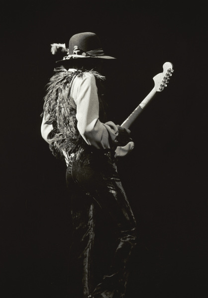 Jimi Hendrix playing Fillmore East in New York City May 10, 1968© 1978 Steve Banks - Image 24377_0024