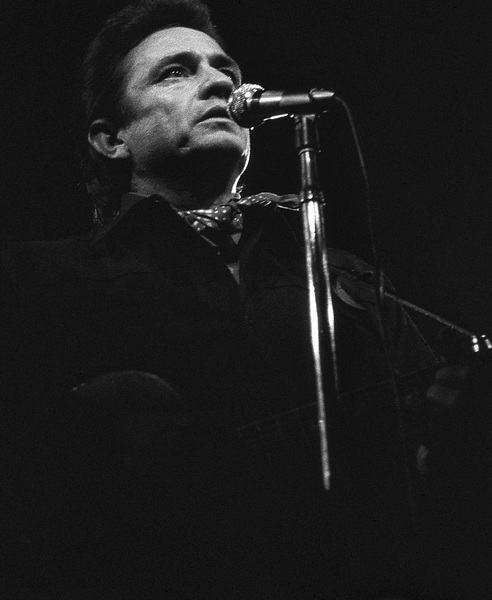 Johnny Cash performing at Madison Square Garden in New York City1969© 1978 Steve Banks - Image 24377_0035