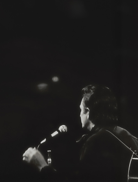 Johnny Cash performing at Madison Square Garden in New York City1969© 1978 Steve Banks - Image 24377_0036