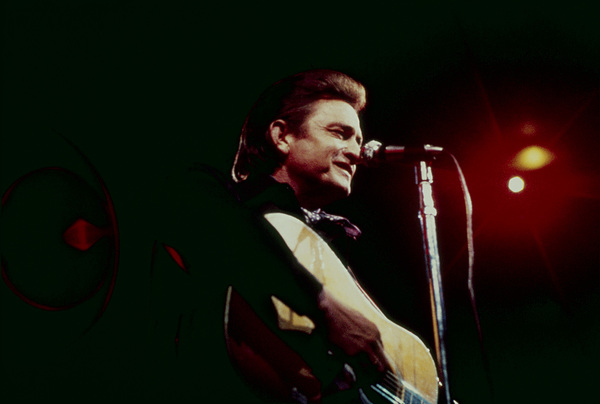 Johnny Cash performing at Madison Square Garden in New York City1969© 1978 Steve Banks - Image 24377_0037