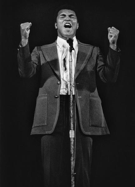 Muhammad Ali in Atlanta 1975© 1978 Steve Banks - Image 24377_0045
