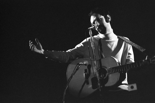 "Peter Yarrow of ""Peter, Paul and Mary"" performing in Stamford, Connecticut 1967© 1978 Steve Banks - Image 24377_0049"