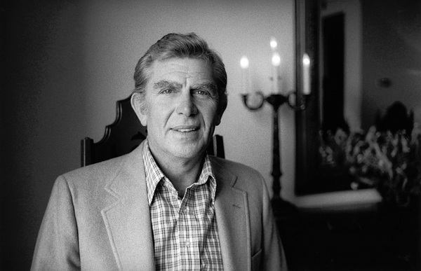 Andy Griffith at home 1979© 1979 Steve Banks - Image 24377_0060