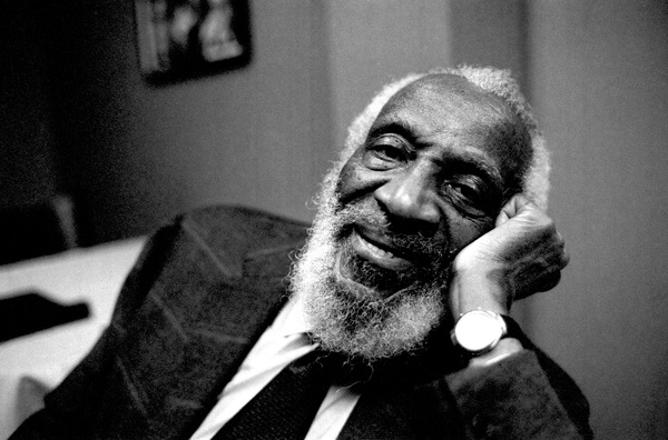 Dick Gregory in  Hollywood 2005© 2005 Steve Banks - Image 24377_0092