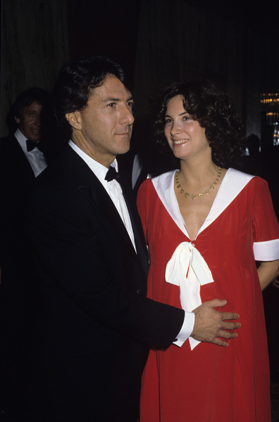 Dustin Hoffman with his wife Lisa Gottsegen1983© 1983 Gary Lewis - Image 2483_0154