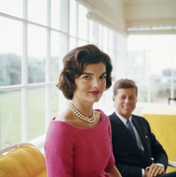Jacqueline Kennedy and John F. Kennedy at Hyannis Port 1959 © 2000 Mark Shaw - Image 2554_0087