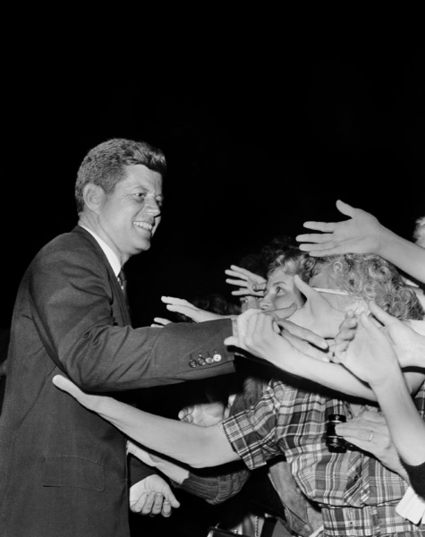 John F. Kennedy at MontgomeryHigh School In Maryland1960**I.V. - Image 2554_0136