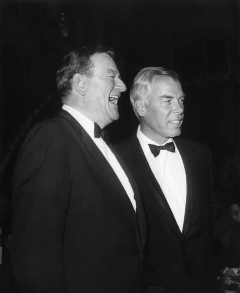 Lee Marvin and John Waynecirca 1950s© 1978 Joe Shere - Image 2660_0144