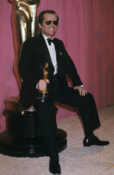 """Jack Nicholson at """"The 48th Annual Academy Awards""""1976© 1978 Gary Lewis - Image 2754_0028"""