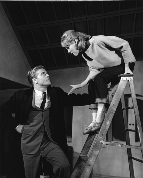 """""""Barefoot in the Park"""" (Stage production)Robert Redford, Penny Fullercirca 1964** I.V. - Image 2857_0080"""