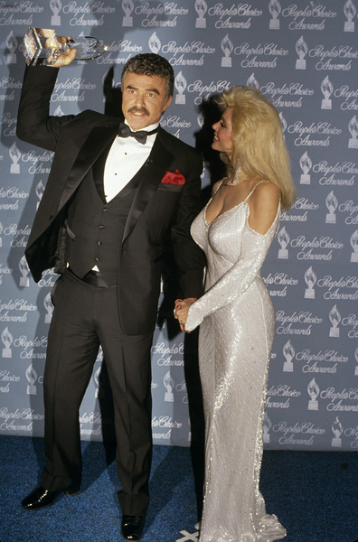 Burt Reynolds and Loni Anderson at the People