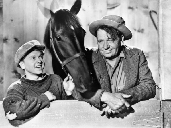 "Mickey Rooney and Wallace Beery in ""Stablemates""1938 MGM - Image 2889_0170"