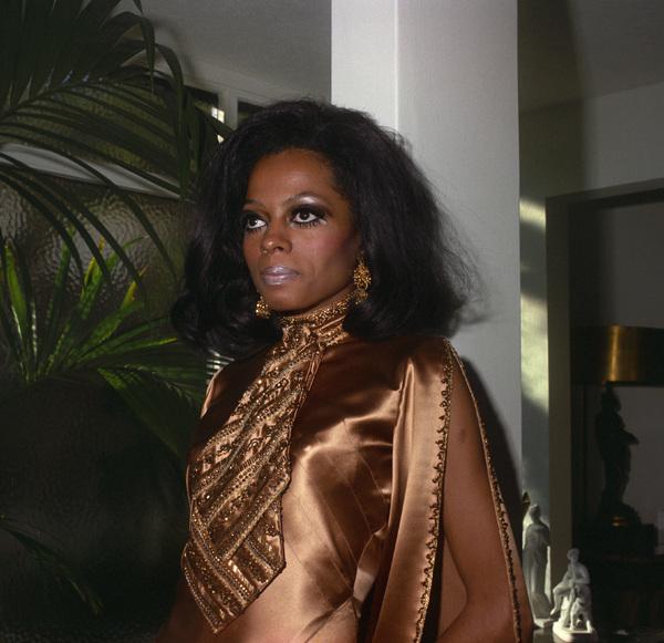 Diana Ross 1969 © 1978 Wallace Seawell - Image 2891_0143