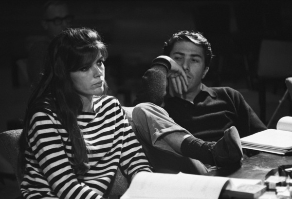 """""""The Graduate""""Katharine Ross, Dustin Hoffman1967© 1978 Bob Willoughby - Image 2892_0109"""