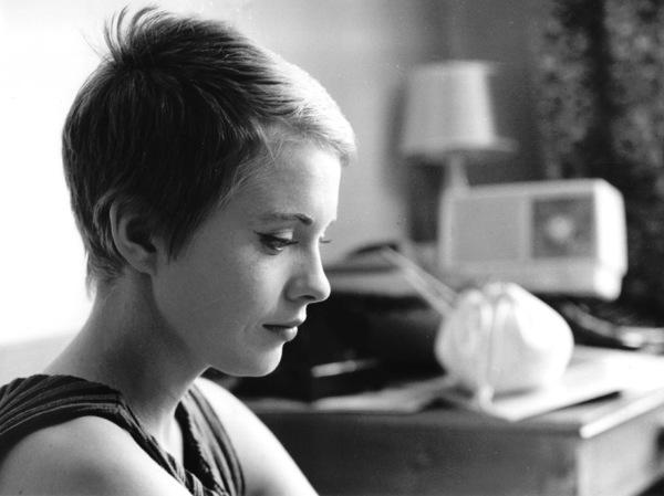 "Jean Sebergduring the filming of ""Breathless""1959 / **I.V. - Image 2927_0049"