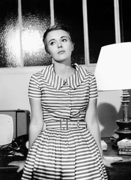 "Jean Seberg on the set of ""Breathless""1959.**I.V. - Image 2927_0057"