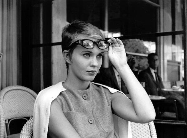 "Jean Seberg on the set of ""Breathless""1959.**I.V. - Image 2927_0058"