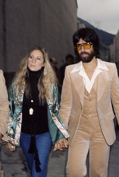 Barbra Streisand and Jon Peterscirca 1970s © 1978 Gary Lewis - Image 2995_0363