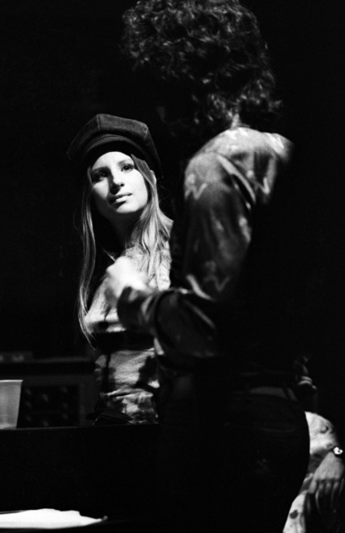Barbra Streisand and Richard Perry 1971 © 1978 Ed Thrasher - Image 2995_0393