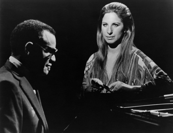 Barbra Streisand and Ray Charlescirca 1960s** R.C. - Image 2995_0431