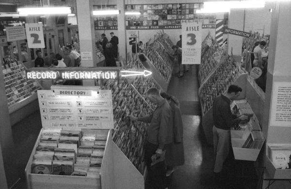 Music City on Sunset Blvd.1955© 1978 Bob Willoughby - Image 3250_0095