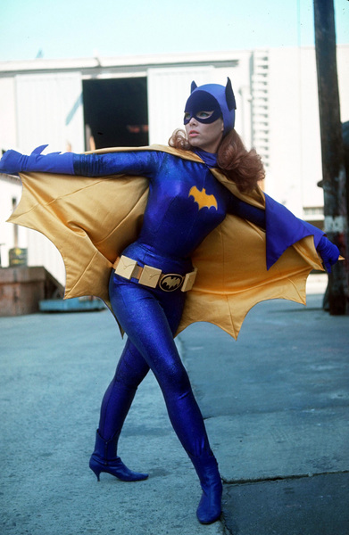 """Batman"" Yvonne Craig as Batgirl 1967 © 1978 Gunther - Image 3285_0090"