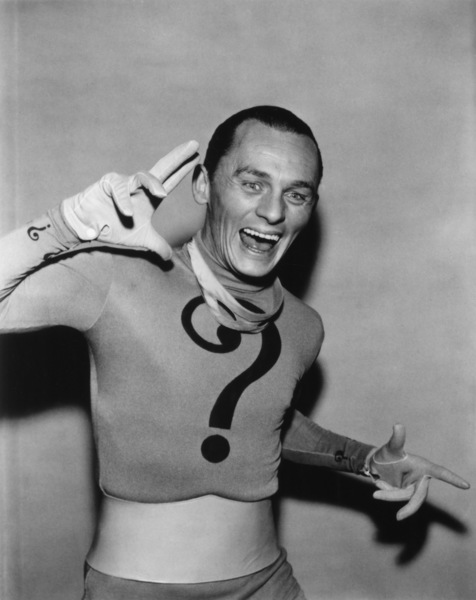 """Batman""Frank Gorshin as the Riddler1966 - Image 3285_0181"