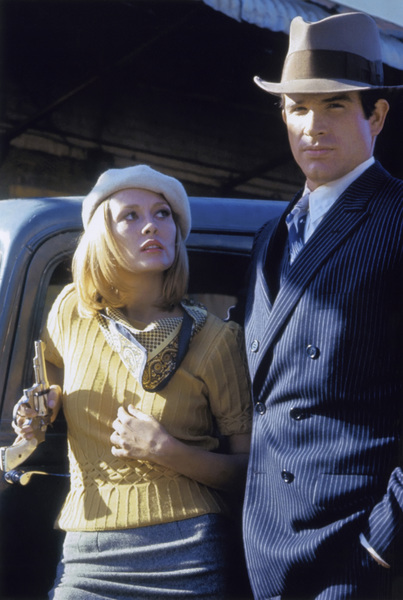"""Bonnie and Clyde"" Faye Dunaway, Warren Beatty 1967 Warner Brothers ** I.V. - Image 3314_0333"