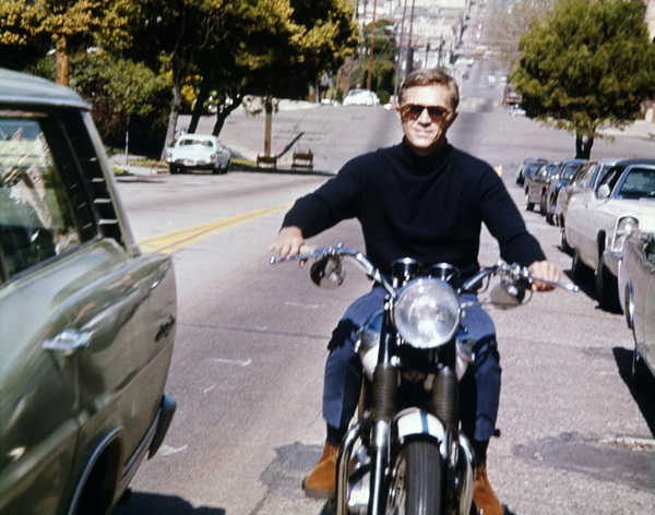 """Bullitt"" Steve McQueen 1968 Solar Productions Photo by Mel Traxel ** I.V. - Image 3321_0142"