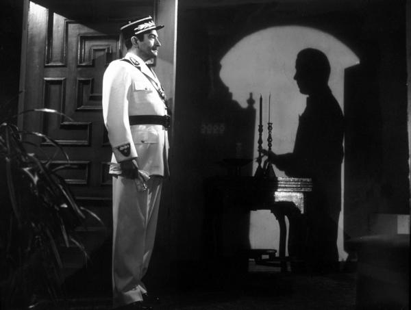 """Casablanca""Claude Rains and Humphrey Bogart"