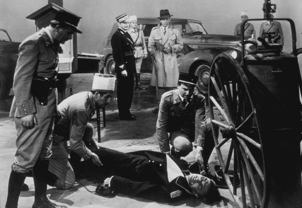 """Casablanca""Claude Rains and Humphrey Bogart 1942 Warner Bros.MPTV - Image 3339_0323"