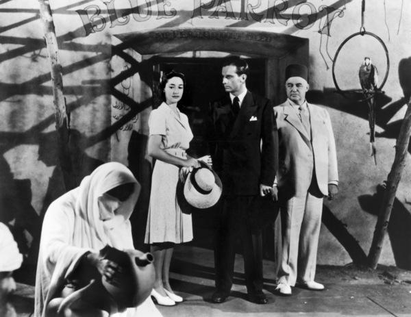 """""""Casablanca""""Joy Page, Sydney Greenstreet1942** I.V. - Image 3339_0382"""