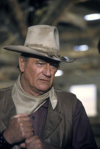 """The Cowboys"" John Wayne 1972 Warner Brothers © 1978 David Sutton - Image 3370_0679"