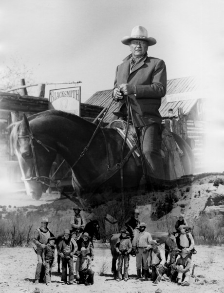 """The Cowboys""John Wayne1972 Warner Brothers** I.V. - Image 3370_0709"
