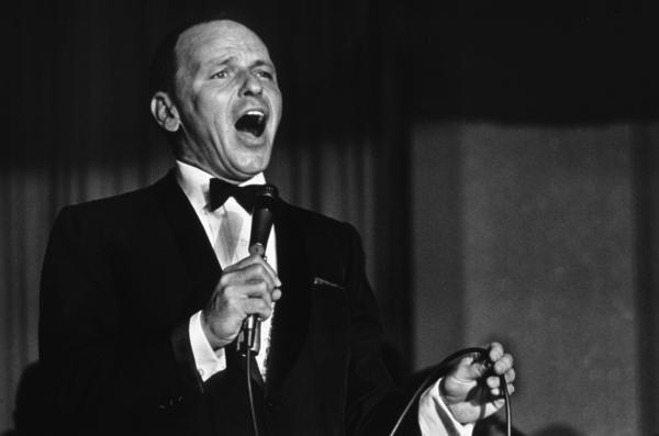 Frank Sinatra performing, 1964. © 1978 David SuttonMPTV - Image 337_1337