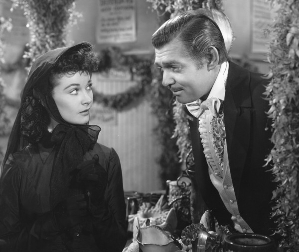"""""""Gone with the Wind""""Vivien Leigh & Clark Gable1939 Selznick**I.V. - Image 3457_0261"""