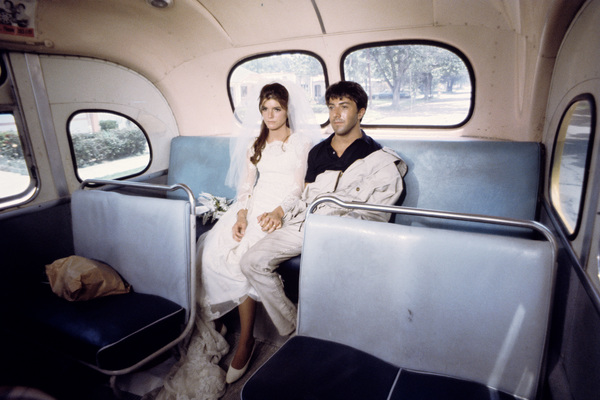 """""""The Graduate""""Katharine Ross, Dustin Hoffman1967© 1978 Bob Willoughby - Image 3461_0011"""