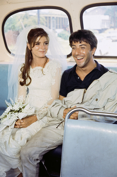 """""""The Graduate""""Katharine Ross, Dustin Hoffman1967© 1978 Bob Willoughby - Image 3461_0012"""